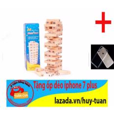 Hình ảnh Trò chơi rút gỗ 54 thanh mini X-1 + Free ốp dẻo trong suốt iphone 7 plus