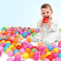 Hình ảnh Túi 100 quả bóng chơi cho bé (hàng Việt Nam)
