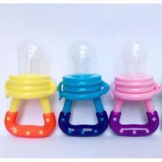 Túi ăn chống hóc silicon genia kids 1 CHIẾC