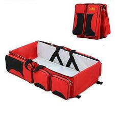 Túi nôi du lịch cho bé nằm đa năng tiện ích(đỏ đô)