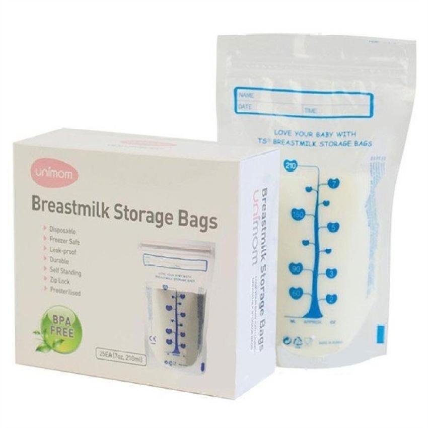 Túi Trữ Sữa Unimom 210ml - 60 Túi Giá Rẻ Bất Ngờ