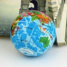 Hình ảnh UINN Bản Đồ Thế Giới Xốp Quả Địa Cầu Giảm Căng Thẳng Nảy Bóng Tập Bản Đồ Địa Lý Đồ chơi TH092-qu ốc tế