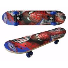 Giá Bán Van Trượt Skateboard Trẻ Em Người Nhện Mới