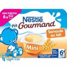 Mua Vang Sữa Nguội Nestle Phap Vị Lúa Mỳ Bột Bang 6X60G Nestlé