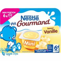 Giá Bán Vang Sữa Nguội Nestle Phap Vị Vani 6X60G Nhãn Hiệu Nestlé