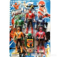 Coupon Ưu Đãi Vỉ đồ Chơi 5 Anh Em Siêu Nhân Thần Kiếm Samurai Mini & điện Thoại
