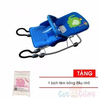 Xe ăn bột K3 - Không Rung cao cấp M1461-XAB cho bé - Nhựa Chợ Lớn Tặng 1 bịch tăm bông đầu nhỏ cho bé thumbnail