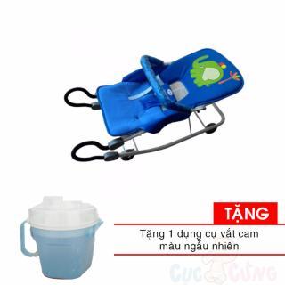 Xe ăn bột K3 - Không Rung cao cấp M1461-XAB cho bé - Nhựa Chợ Lớn Tặng 1 ca vắt cam màu ngẫu nhiên thumbnail