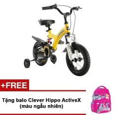 Giá bán Xe đạp trẻ em Royal Baby RB12B-9 Flybear 12 (Vàng) + Tặng ba lô Clever Hippo ActiveX