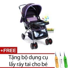Giá Bán Xe Đẩy Good Baby 709C Tim Tặng Bộ Dụng Cụ Lấy Ray Tai Cho Be Nguyên