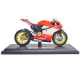 Ôn Tập Xe Mo Hinh Tỉ Lệ 1 18 Moto Ducati 1199 Super Leggera 11Cm Đỏ Cam