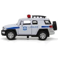 Hình ảnh Xe mô hình cảnh sát Police Car bằng sắt tỉ lệ 1:32 mở cửa, chạy đà, sáng đèn, phát nhạc