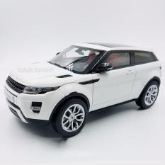 Hình ảnh Xe mô hình Ranger rover evoque trắng tỉ lệ 1:18 chất lượng