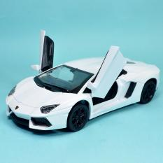 Giá Bán Xe Mo Hinh Sắt Tỉ Lệ 1 32 Lamborghini Aventador Trắng Có Thương Hiệu