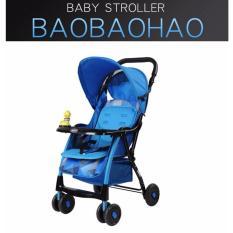 Bán Xe Noi Đẩy Trẻ Em Baobaohao 722C New 2017 Xanh Dương Người Bán Sỉ
