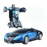 Bán Xe O To Biến Hinh Thanh Sieu Nhan Transformers Điều Khiển Từ Xa Xanh Phối Đen Mới