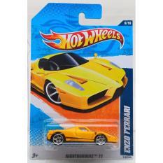 Giá Bán Xe O To Mo Hinh Tỉ Lệ 1 64 Hot Wheels Nightburnerz Enzo Ferrari 116 244 Mau Vang Nguyên