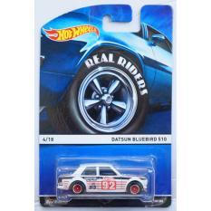 Bán Xe O To Mo Hinh Tỉ Lệ 1 64 Hot Wheels Real Riders Datsun Bluebird 510 4 18 Mau Trắng Rẻ