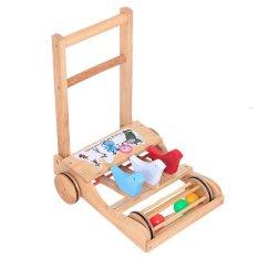 Hình ảnh Xe tập đi bằng gỗ cho bé có bóng lăn Song Son