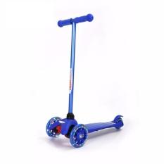 Hình ảnh Xe trượt Scooter trẻ em có đèn Chrome Wheels (Xanh dương)