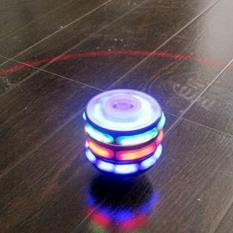 Hình ảnh (xem video) Đồ chơi con quay SM phát sáng & phát nhạc