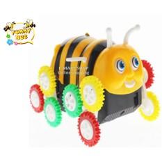 Hình ảnh (Xem Video) Đồ chơi xe con ong 12 bánh tự nhào lộn tự lật