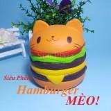 Bán Xem Video ► Squishy ◄ Squishy Hamburger Meo Tặng Bao Bi Shop Con Rất Nhiều Loại Squishy Như Gấu Truc Minion Gato Mochisquishy Mới