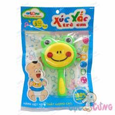 Hình ảnh Xúc xắc trẻ em hình trống - mặt ếch
