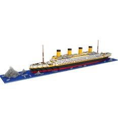 Hình ảnh YBC 1860 cái/bộ Titan Tàu Lắp Ráp Mô Hình DIY Khối Xây Dựng Kid Đồ Chơi Quà Tặng-intl