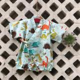Bộ Đồ Be Trai Jinbie Cho Be Mặc Bỉm Mau Xanh Họa Tiết Khủng Long Vải Cotton Han Size 6 10Kg Oem Rẻ Trong Hà Nội