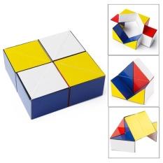 Hình ảnh Z7 Nhiều Màu Sắc Bộ Ghép Hình Khối Ngược Vô Cực Fidget Cube Giảm Áp Lực Đồ Chơi-quốc tế