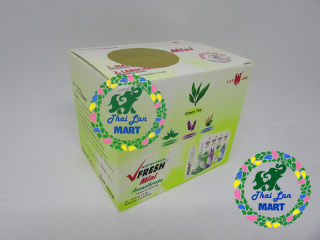 12 CHAI DẦU GIÓ LĂN VFRESH GREEN TEA INDONESIA CHÍNH HÃNG 4 ML thumbnail