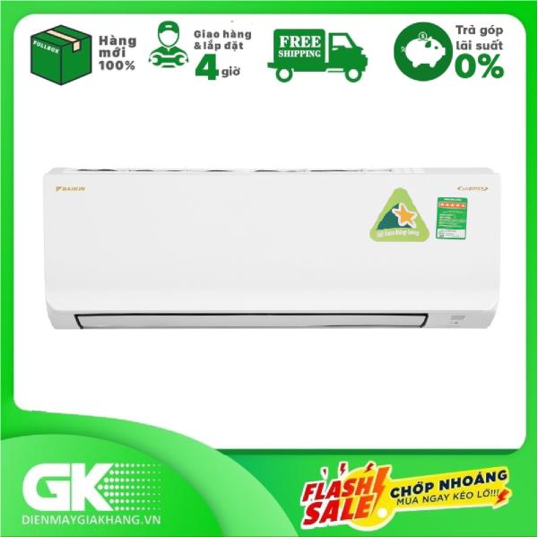 [Trả góp 0%]Máy lạnh Daikin Inverter 1.5 HP ATKA35UAVMV Mới 2020