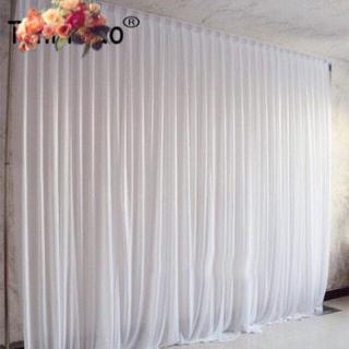 Vải voan thun làm phông rèm đám cưới, sự kiện, sinh nhật, trang trí nhà hàng, khách sạn, không gian tiệc rộng 1m75 dài 2m (đã may) thumbnail