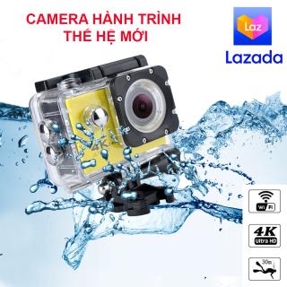 Camera Hành Trình Gắn Xe Máy, Camera Hành Trình 4K Ultra Hd, Camera Hành Trình Full Hd. [HÀNG XỊN] Camera hành trình thế hệ mới, có kết nối Wifi thông qua APP điện thoại, chống nước, chống rung tốt. Góc quay rộng, độ phân giải lớn. Giá sốc (-50%) thumbnail