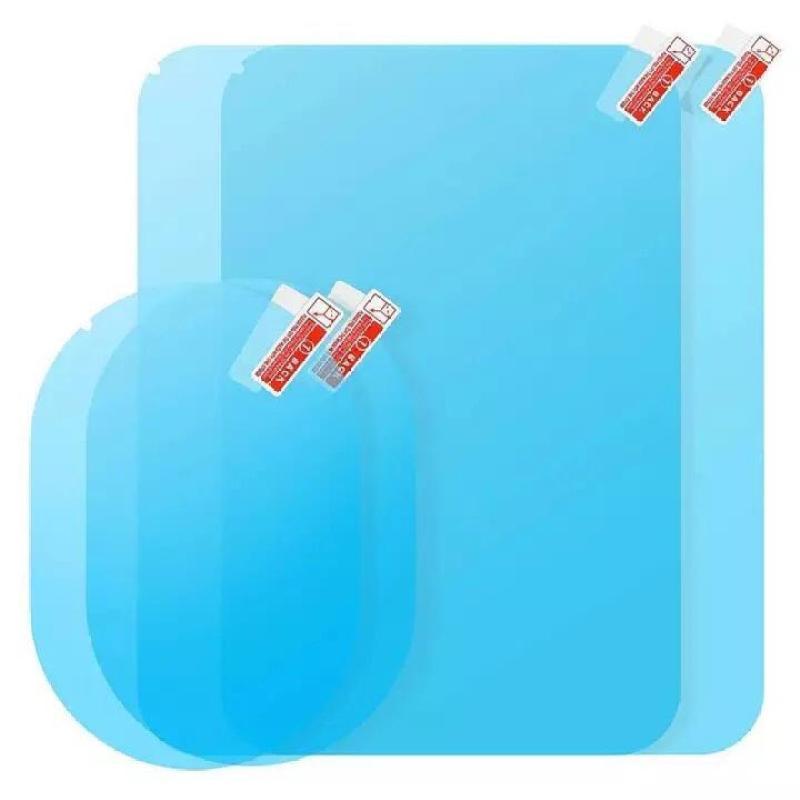 Combo 4 miếng dán chống tụ nước kính hông và gương chiếu hậu ô tô