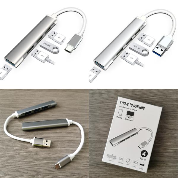 Bảng giá Bộ chia cổng Hub USB và Hub Type C [3.0] Phong Vũ