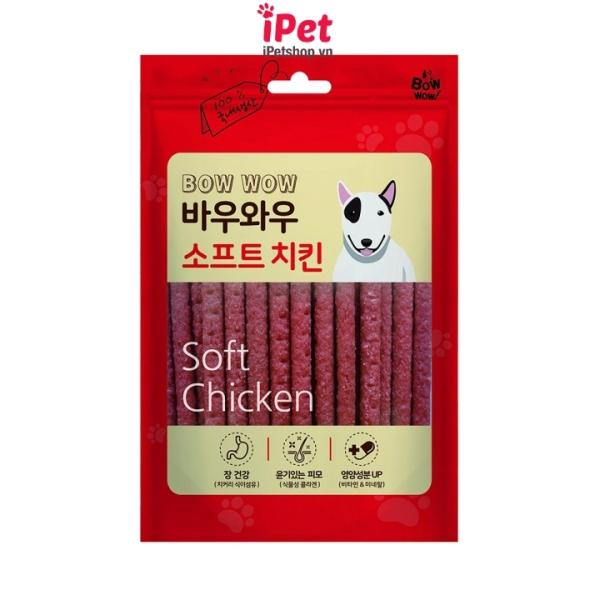 Thịt Gà Que Ăn Vặt Bow Wow Cho Chó (150gr) - iPet Shop