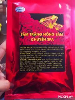 [Sale - Hàng Cty] 1 gói tắm Hồng Sâm thumbnail