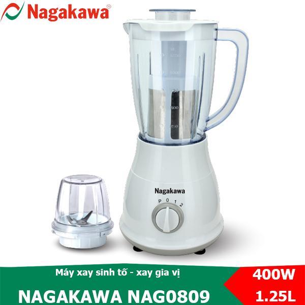 Mã Tiết Kiệm Để Mua Sắm Máy Xay Sinh Tố đa Năng 2 Trong 1, Công Suất 400W Nagakawa NAG0809