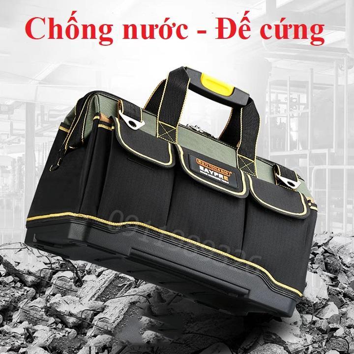 Túi đồ nghề chống nước đế cứng siêu bền chất lượng cao