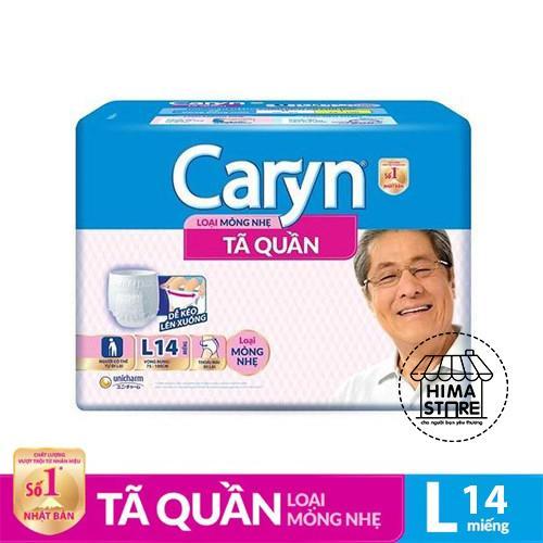 Tã quần Caryn mỏng nhẹ L14 (75-100CM)