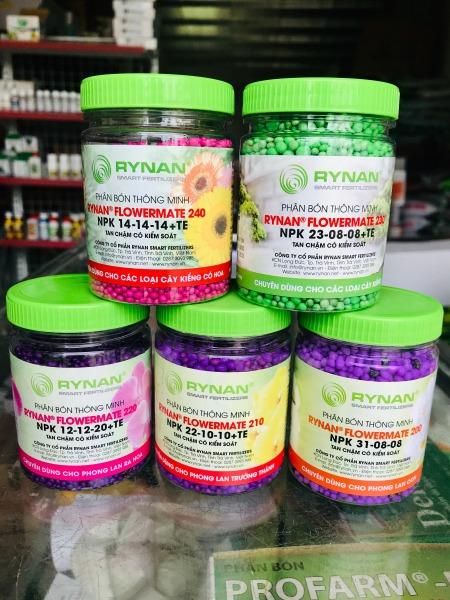 Combo sản phẩm bộ 5 Phân bón thông minh RYNAN chuyên dùng cho Hoa Lan và cây cảnh
