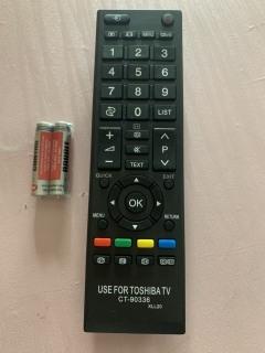 REMOTE ĐIỀU KHIỂN TIVI TOSHIBA LED LCD DÒNG CT-90 thumbnail