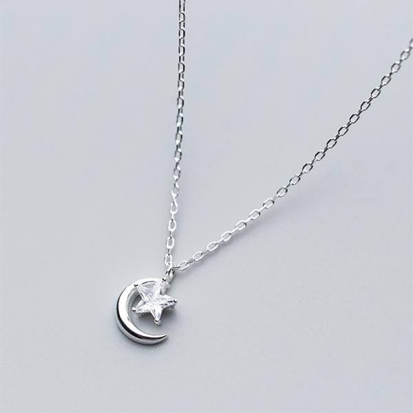 Dây chuyền thời trang bạc thật cho nữ S925 DB2423- Bảo Ngọc Jewelry