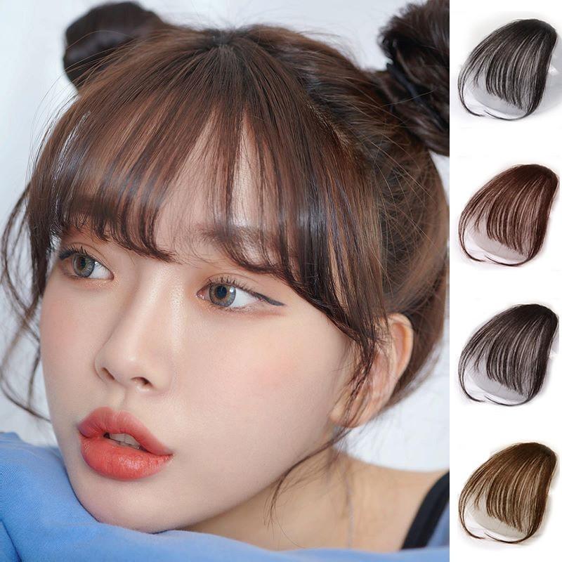 Tóc Mái Giả Thưa Có Mai Phong Cách Hàn Quốc nhập khẩu