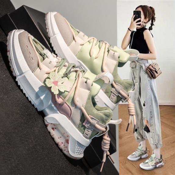 Giày thể thao nữ hottend 2020 hoa đào cực xinh dành cho phái nữ. giá rẻ