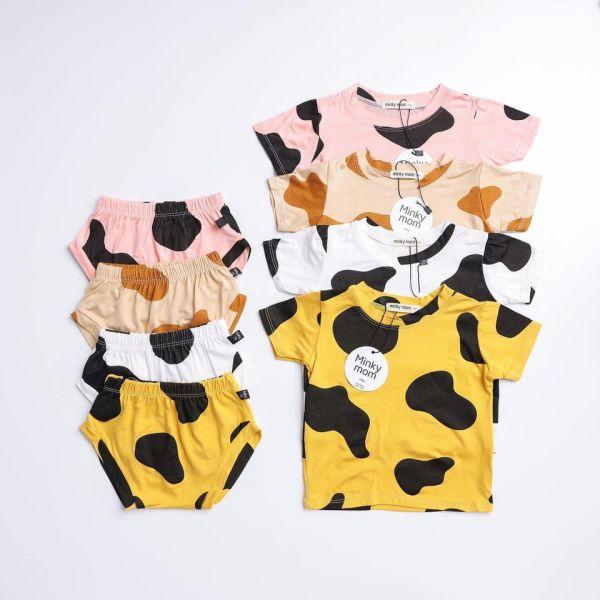 Giá bán Bộ chip bò co giãn mểm mịn mát cho bé từ 4 đến 16 kg