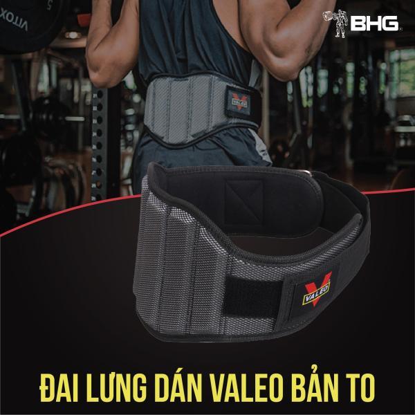 Đai lưng Tập Gym Valeo Bản To 19cm Hỗ Trợ Squat
