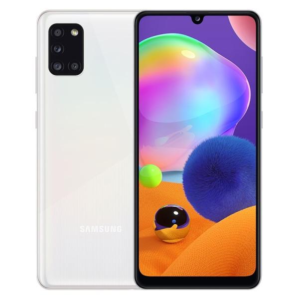 Điện thoại Samsung Galaxy A31 6GB/128GB, chính hãng, nguyên seal, MỚI 100%, Màn hình 6.4 inches, FHD+, Camera trước 20.0 MP, Camera sau Chính 48 MP & Phụ 8 MP, 5 MP, 5 MP, Sở hữu chip MediaTek MT6768 8 nhân (Helio P65), Pin 5000mAh